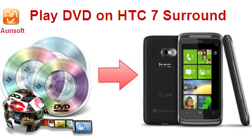 Play DVD Disc HTC-7 Surround