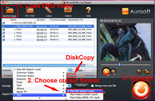 how to add an mp4 movie to ipad