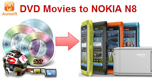 dvd movie nokia n8 conversion