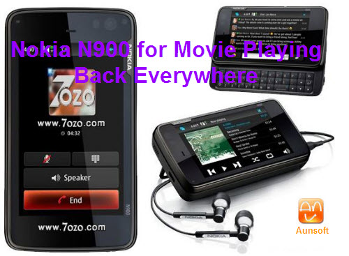 nokia n900 for movie playing