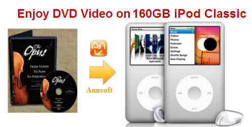synctransferplay dvd movies to 160gb ipod classic � dvd