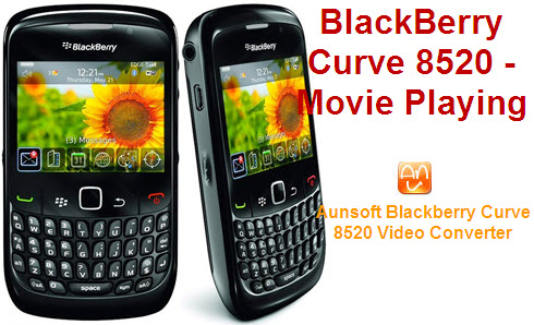 Put/Play Movie and Music on BlackBerry Curve 8520