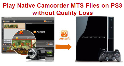 play camcorder native mts on ps3
