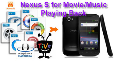 nexus s for movie music play