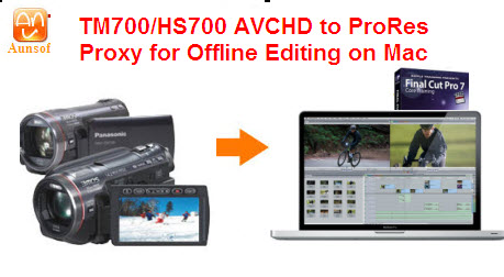 avchd video final cut offline edit