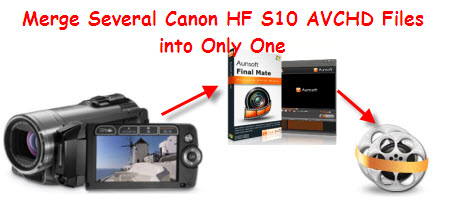 merge hf s10 avchd into one