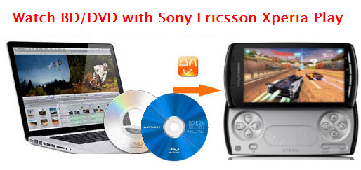 xperia play blu ray dvd ripper