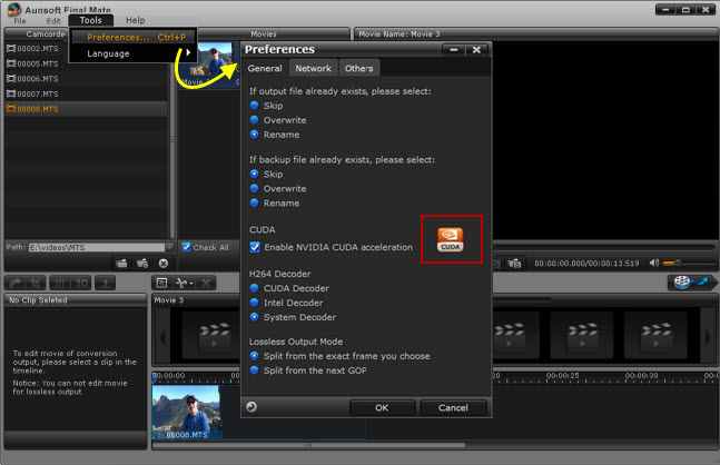 5X Faster Camcorder Video Conversion with NVIDIA CUDA and