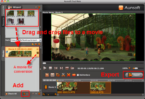 how to find imported videos on mac