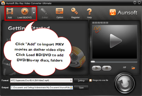 Add mkv dvd blu-ray movies to ultimate