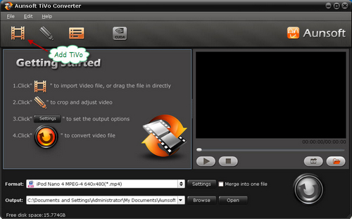 how to play tivo files