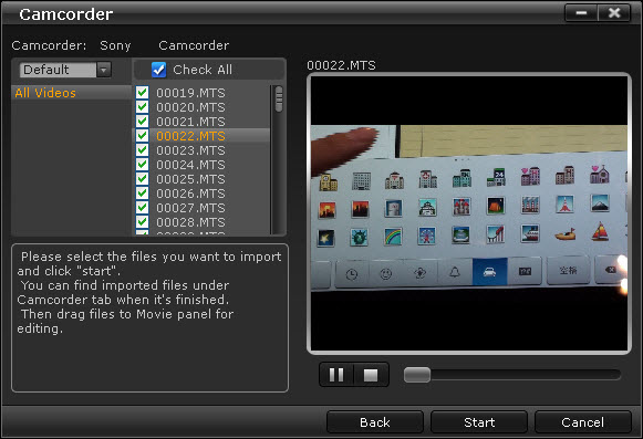 Media Player Android Mts