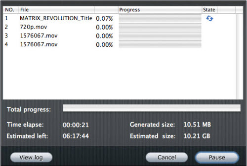 iMedia Converter for Mac Tutorial, Running