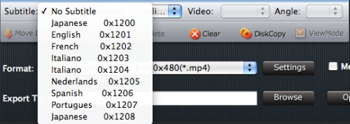 iMedia Converter for Mac Tutorial, Subtitle