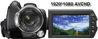 Sony HDR-SR12E Video to iPad/iPhone4, Handycam SR12