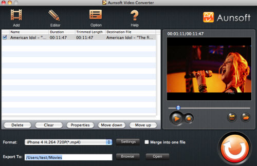 Converting TiVo/HD Video to iPhone 4, Tivo iPhone1