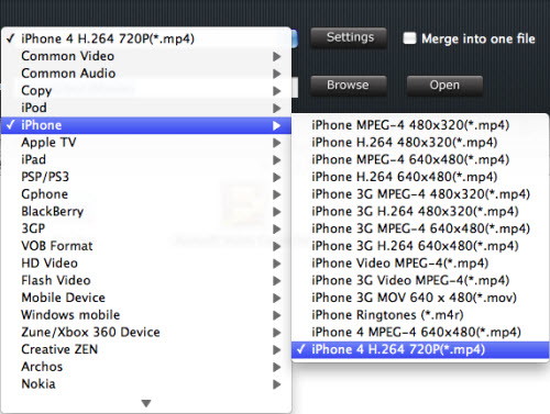 Convert and Play HD Video on iPhone 4, Tivo iPhone2