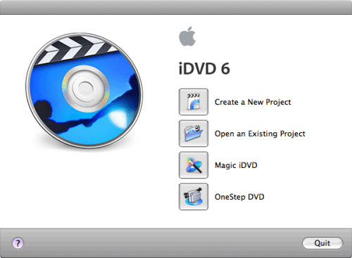 Burn MTS/M2TS to DVD with iDVD, idvd1