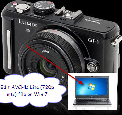 Edit 720P AVCHD Lite in Movie Maker, Edit AVCHD Lite File on Win7