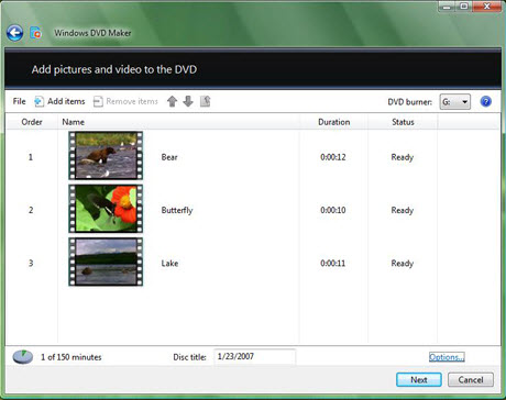 Burn TiVo to DVD with DVD Maker, DVD2