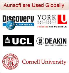 Aunsoft are Used Globally