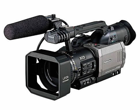 Panasonic Pro AG-DVX100A - 3CCD Camcorder