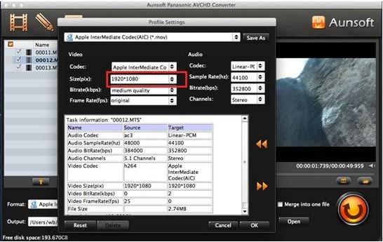 How to Get Panasonic Point & Shoot Lumix Camera Videos to iMovie