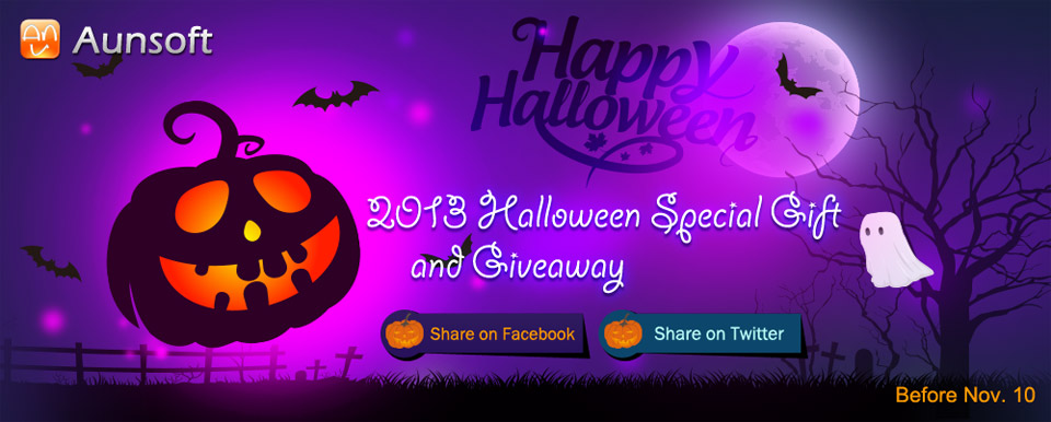 2013 Halloween Special Gift and Giveaway
