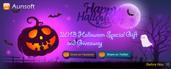 2013 Aunsoft Halloween Special Gift and Giveaway