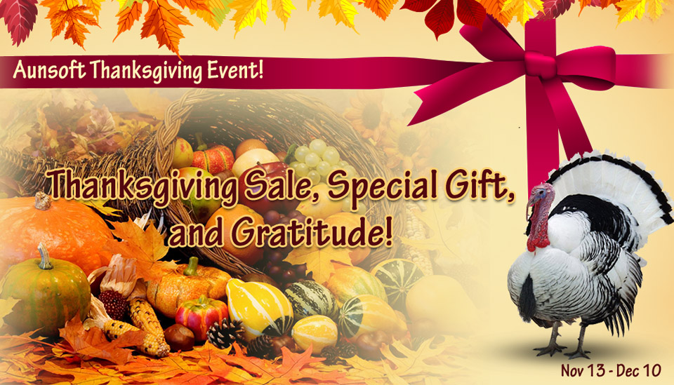 2013 thanksgiving Special Gift and Giveaway
