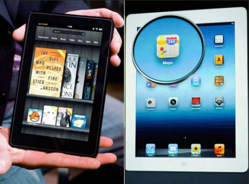 Apple Ipad Vs Kindle: Apple's New IPad Or Amazon's Kindle Fire