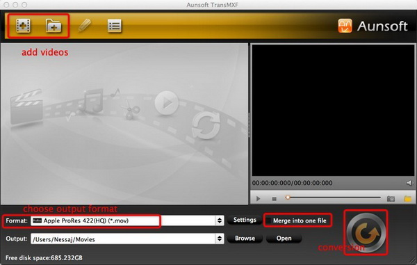 aunsoft transmxf for mac
